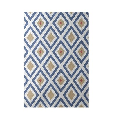 Geometric Taupe Indoor/Outdoor Area Rug Rug Size: 2 x 3