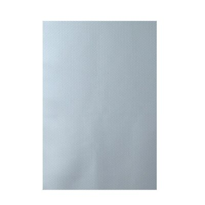 Chevron Light Blue Indoor/Outdoor Area Rug Rug Size: 4 x 6