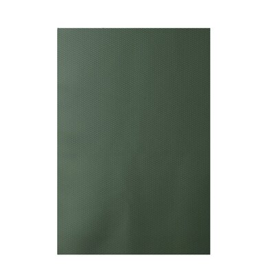 Chevron Green Indoor/Outdoor Area Rug Rug Size: 4 x 6