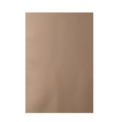 Solid Taupe Indoor/Outdoor Area Rug Rug Size: 3 x 5