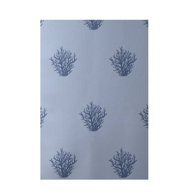 Coastal Light Blue Indoor/Outdoor Area Rug Rug Size: 5 x 7