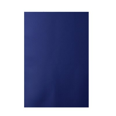 Chevron Royal Blue Indoor/Outdoor Area Rug Rug Size: 2 x 3