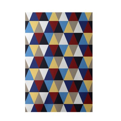 Geometric Beige Indoor/Outdoor Area Rug Rug Size: Rectangle 3 x 5