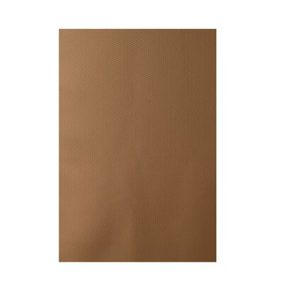 Decorative Solid Brown Area Rug Rug Size: 5 x 7