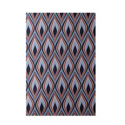Light Blue Indoor/Outdoor Area Rug Rug Size: 5 x 7