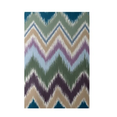 Chevron Indoor/Outdoor Area Rug Rug Size: 2' x 3'