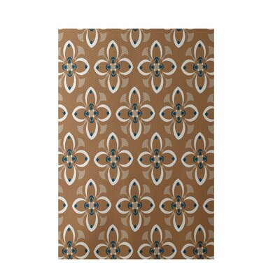 Brown Indoor/Outdoor Area Rug Rug Size: 4 x 6