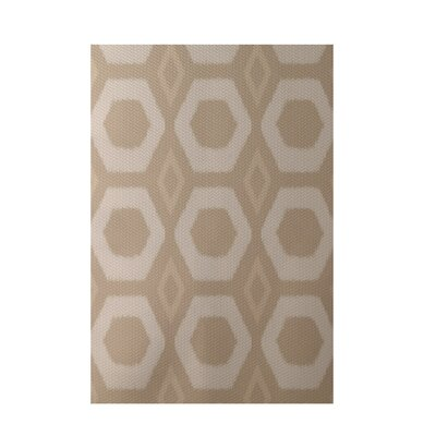 Geometric Beige Indoor/Outdoor Area Rug Rug Size: Rectangle 2 x 3