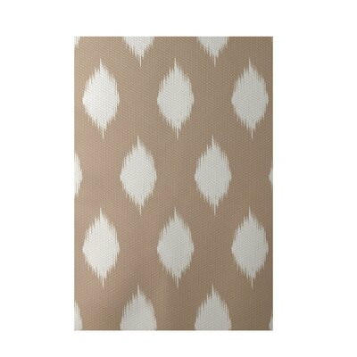 Geometric Beige Indoor/Outdoor Area Rug Rug Size: 5 x 7