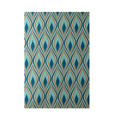 Green Indoor/Outdoor Area Rug Rug Size: 4 x 6