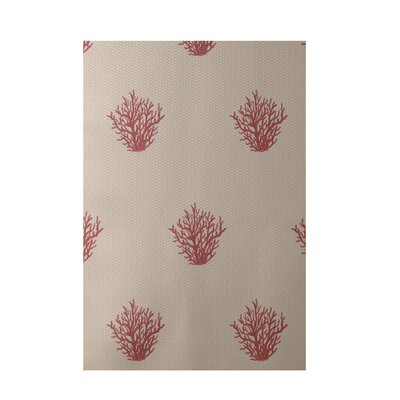 Coastal Beige Indoor/Outdoor Area Rug Rug Size: 5 x 7