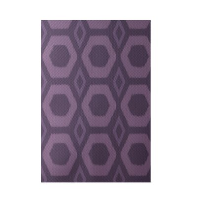 Geometric Purple Indoor/Outdoor Area Rug Rug Size: Rectangle 3 x 5
