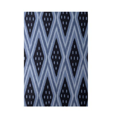 Geometric Blue Indoor/Outdoor Area Rug Rug Size: Rectangle 2 x 3
