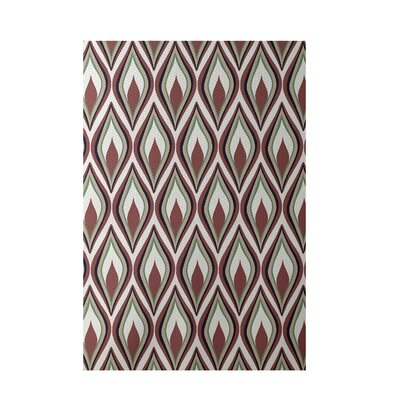 Off White Indoor/Outdoor Area Rug Rug Size: 5 x 7