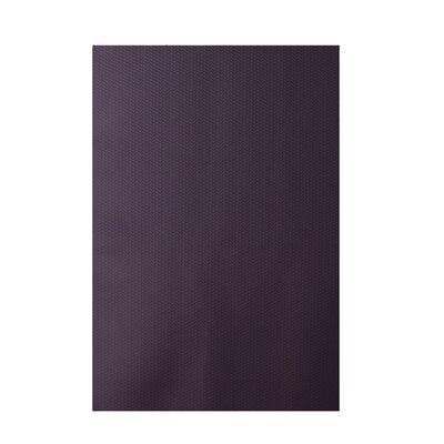 Decorative Solid Purple Area Rug Rug Size: 5 x 7