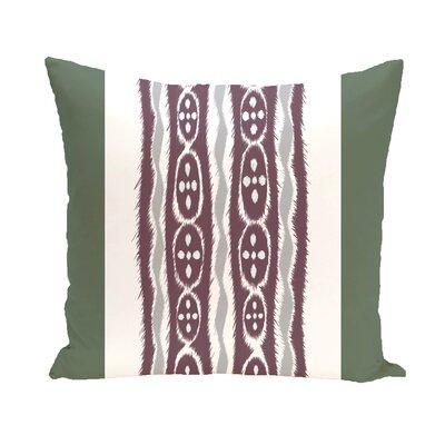 I-Kat U-Dog Stripe Throw Pillow Size: 26