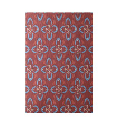 Coral Indoor/Outdoor Area Rug Rug Size: 3 x 5