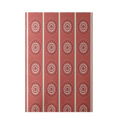 Coral Indoor/Outdoor Area Rug Rug Size: 4 x 6