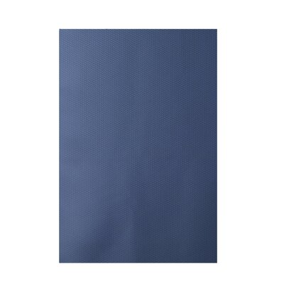 Solid Blue Indoor/Outdoor Area Rug Rug Size: 2 x 3