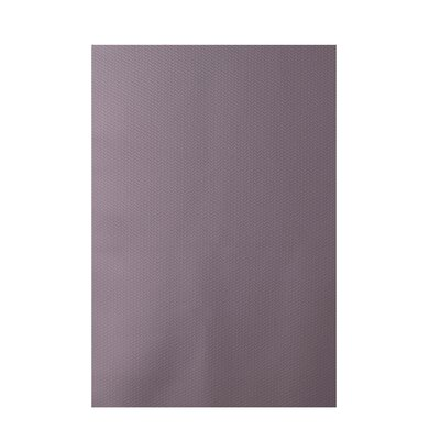 Solid Purple Indoor/Outdoor Area Rug Rug Size: 4 x 6