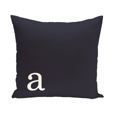 Augustus Monogram Throw Pillow