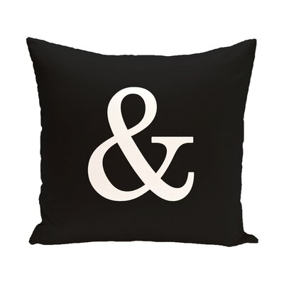 And World Throw Pillow Size: 26 H x 26 W x 2 D