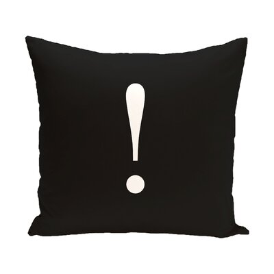 Exclaim to the World Throw Pillow Size: 18 H x 18 W x 2 D