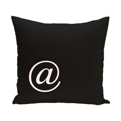At Corner Throw Pillow Size: 18 H x 18 W x 2 D
