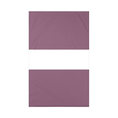Narrow the Gap Stripe Print Polyester Fleece Throw Blanket Size: 60 L x 50 W x 0.5 D, Color: Pale Celery