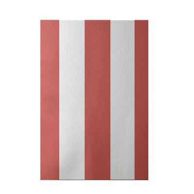 Caymen Stripe Print Seed Indoor/Outdoor Area Rug Rug Size: 5 x 7