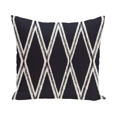 Hansell Geometric Print Outdoor Pillow Color: Bewitching, Size: 16 H x 16 W x 1 D