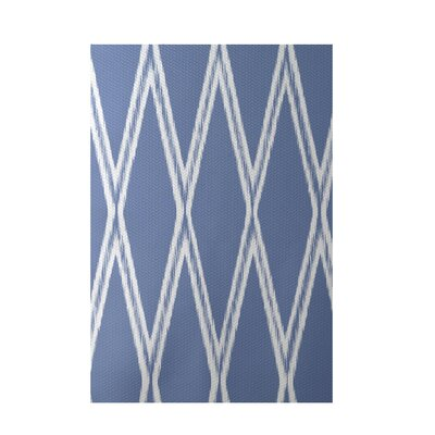 Gate Keeper Geometric Print Blue Indoor/Outdoor Area Rug Rug Size: 4 x 6