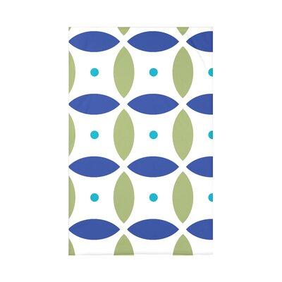 Beach Ball Geometric Print Polyester Fleece Throw Blanket HGN175B1GR20-50x60