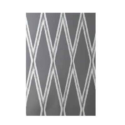 Gate Keeper Geometric Print Classic Gray Indoor/Outdoor Area Rug Rug Size: 5 x 7