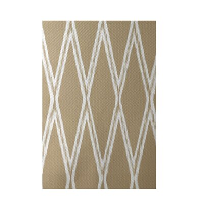 Gate Keeper Geometric Print Khaki Indoor/Outdoor Area Rug Rug Size: Rectangle 2 x 3