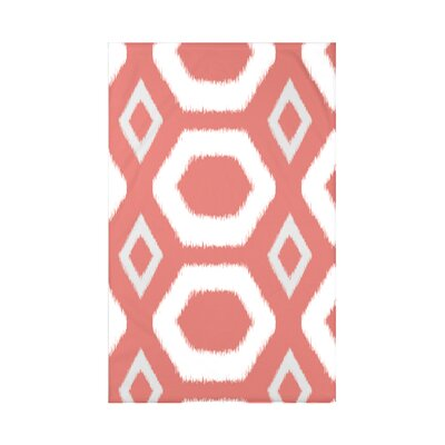 Geometric Print Fleece Throw Blanket Size: 60 L x 50 W x 0.5 D, Color: Seed