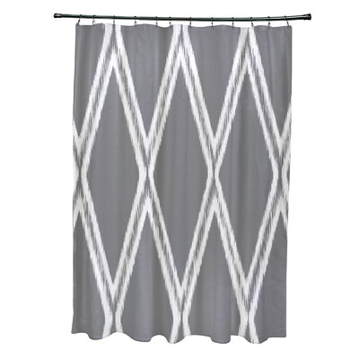 Gate Keeper Shower Curtain Color: Classic Gray