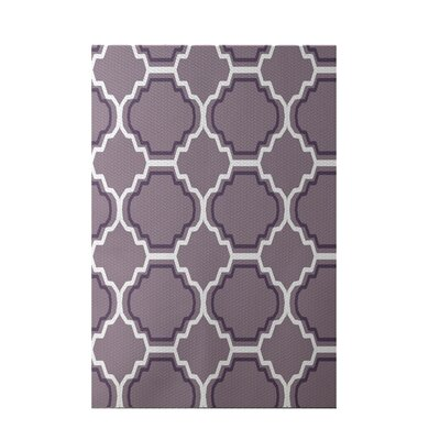 Road to Morocco Geometric Print Brown Indoor/Outdoor Area Rug Rug Size: 4 x 6