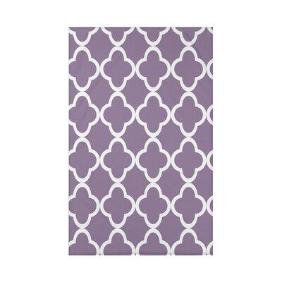 Marrakech Express Geometric Print Polyester Fleece Throw Blanket Size: 60 L x 50 W x 0.5 D, Color: Larkspur