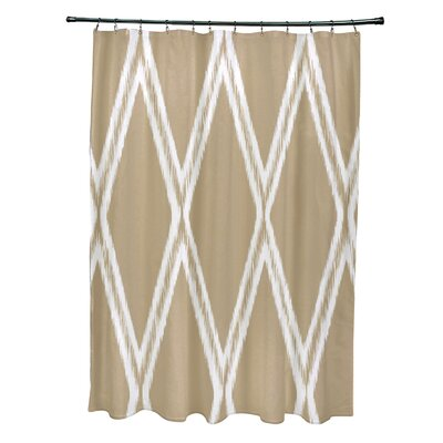 Gate Keeper Shower Curtain Color: Khaki