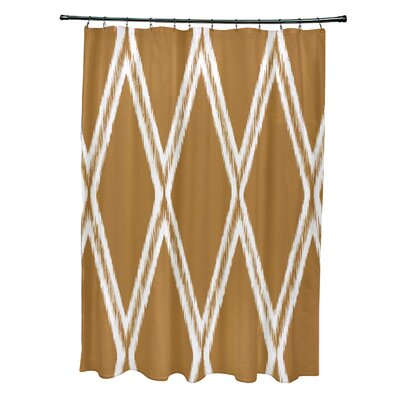 Gate Keeper Shower Curtain Color: Soft Lemon