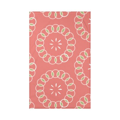 Happiness Is� Floral Print Polyester Fleece Throw Blanket Size: 60 L x 50 W x 0.5 D, Color: Seed