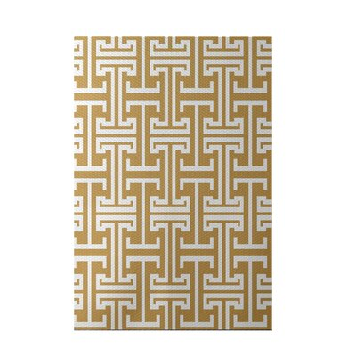 Greek Isles Geometric Print Dijon Indoor/Outdoor Area Rug Rug Size: 5 x 7