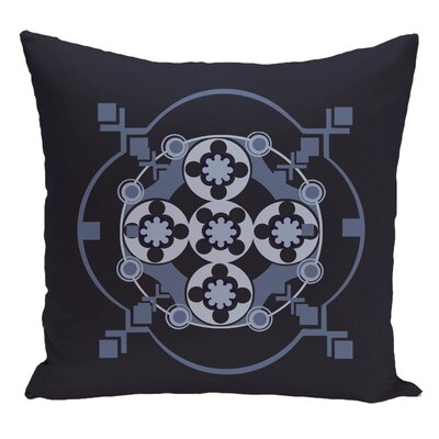 Decorative Floor Pillow Color: Navy Blue/Blue