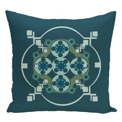 Decorative Floor Pillow Color: Teal/Aqua