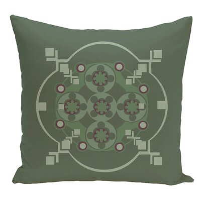 Decorative Floor Pillow Color: Green