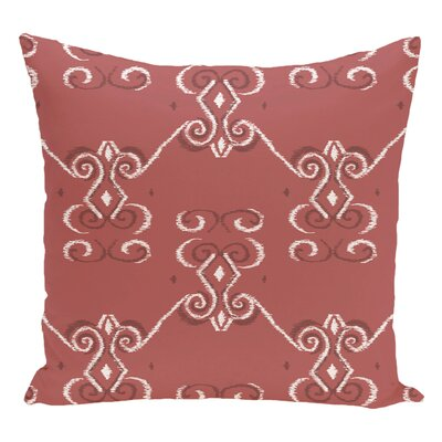 Decorative Floor Pillow Color: Orange/Brown