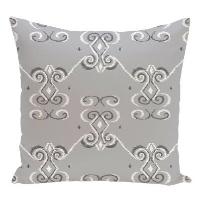 Decorative Floor Pillow Color: Gray
