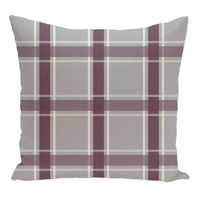 Decorative Floor Pillow Color: Gray/Purple