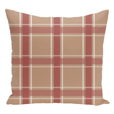 Decorative Floor Pillow Color: Brown/Orange